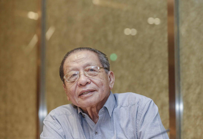 Lim Kit Siang said Solomon's message emerged only after the DoJ had clearly indicated complicity on the part of the bank, which was outlined in the civil suits filed in US courts. — Picture by Firdaus Latif