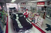 <p>It pretty much goes without saying that this drive-thru express mart puts the <em>convenience</em> in convenience store. </p>