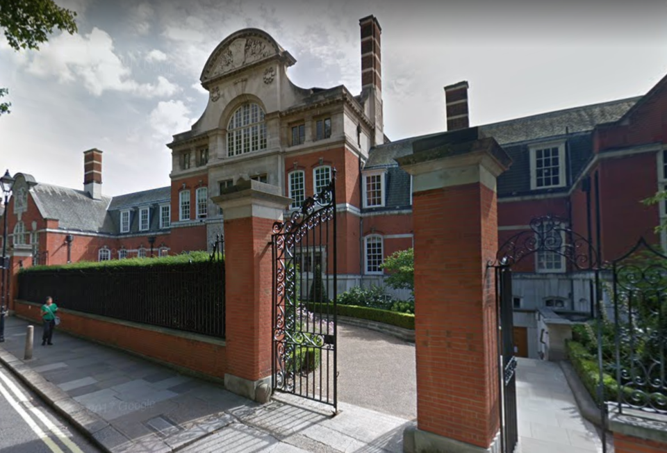 <em>Backlash – St Paul's Girls' School is facing a backlash after holding an 'Austerity Day' (Picture: Google Streetview)</em>