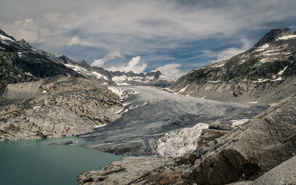 The glacier remains, but has shrunk  - Getty