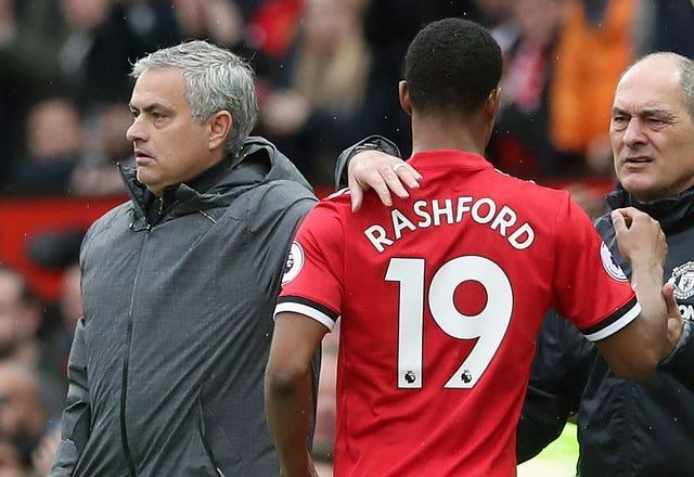 Marcus Rashford says Jose Mourinho encouraged him to win penalties, but Klopp has denied doing the same