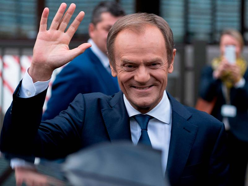 Outgoing European Council president Donald Tusk, pictured 29 November, 2019: Kenzo Tribouillard/AFP/Getty Images