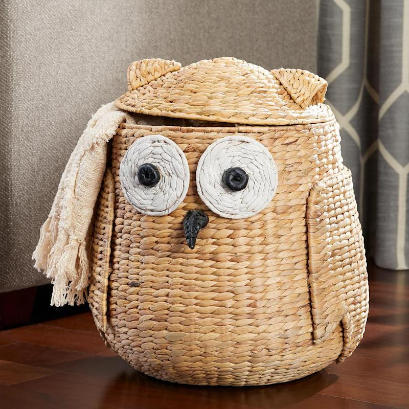 This decorative basket is a total hoot. (Photo: Home Depot)
