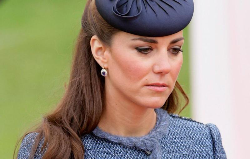 Kate suffered from hyperemesis gravidarum during her third pregnancy. Source: Getty