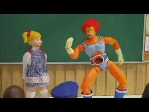 """<p>Seth Green's <em>Robot Chicken</em>, the only piece of stop motion on this list (okay, <em>South Park</em> started off sort of stop motion) has maybe the most unique types of humor of any series. As much in touch with the cultural zeitgeist as <em>The Simpsons</em>, but meant for adults, the series is probably most watched by eighth graders. But that's okay. We love it. </p><p><a class=""""link rapid-noclick-resp"""" href=""""https://www.amazon.com/Robot-Chicken-Season-1/dp/B00AEVHFTO?tag=syn-yahoo-20&ascsubtag=%5Bartid%7C2139.g.32380506%5Bsrc%7Cyahoo-us"""" rel=""""nofollow noopener"""" target=""""_blank"""" data-ylk=""""slk:STREAM IT HERE"""">STREAM IT HERE</a></p><p><a href=""""https://www.youtube.com/watch?v=mb23xZI3AWc"""" rel=""""nofollow noopener"""" target=""""_blank"""" data-ylk=""""slk:See the original post on Youtube"""" class=""""link rapid-noclick-resp"""">See the original post on Youtube</a></p>"""
