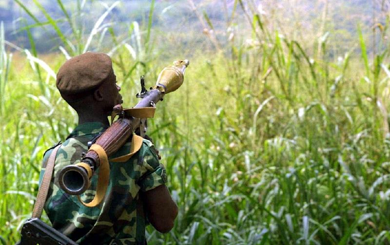 Rebel leader Jean-Pierre Bemba had sent his rebel force, the Congolese Liberation Movement, into the Central African Republic to quash a coup against then president Ange-Felix Patasse in 2002 (AFP Photo/DESIREY MINKOH)
