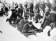 <p>At the 1928 Olympics, the United States won the bobsledding competition with a four man team comprised of two brothers from Chicago. </p>