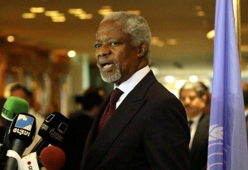 "Kofi Annan said the massacre in the central town was ""an appalling moment with profound consequences"""