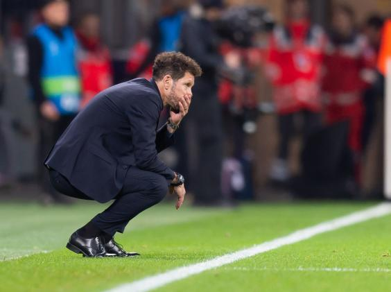 Simeone's Atletico run could be coming to an end (Getty)