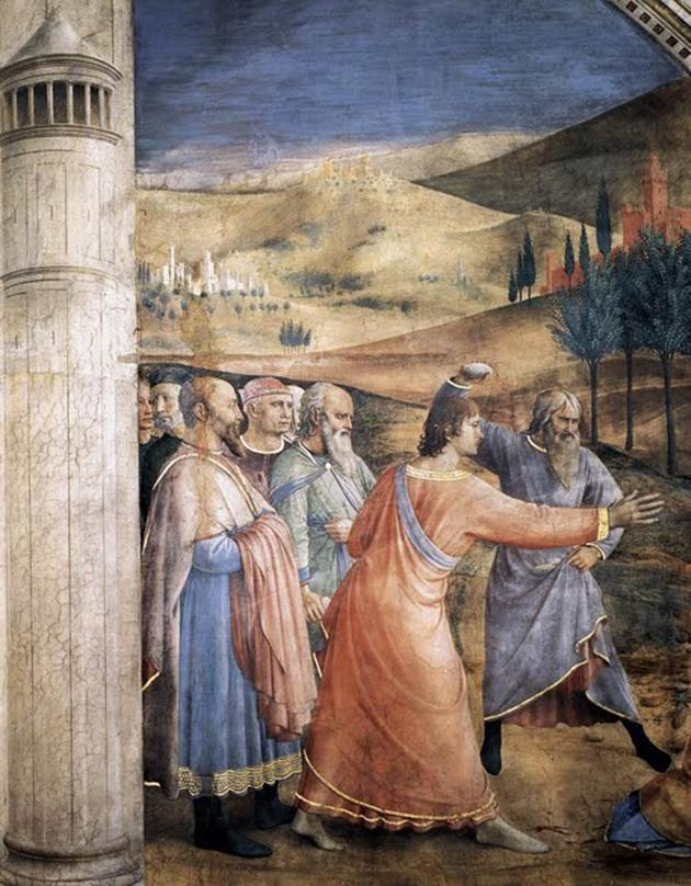 The stoning of St. Stephen