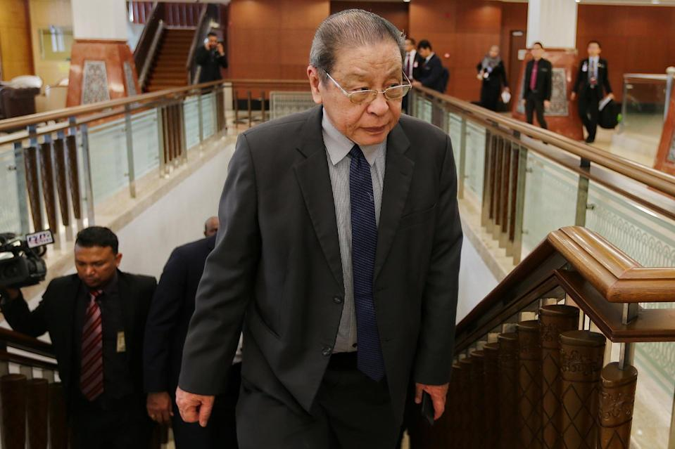 Democratic Action Party (DAP) lawmaker Lim Kit Siang said that Opposition bowing to pressure following the Budget 2021 vote is a misconception . — Picture by Ahmad Zamzahuri