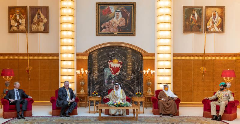 U.S. ready to help Bahrain-Israel normalisation if needed, official says