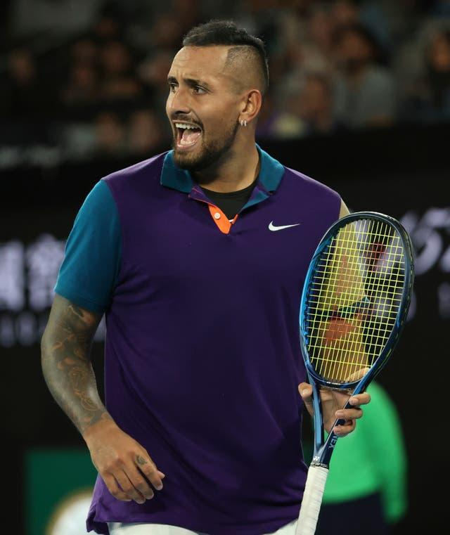 Nick Kyrgios played in two of the matches of the tournament