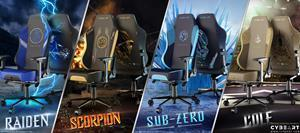 World's First Ever Mortal Kombat Gaming Chairs from Cybeart