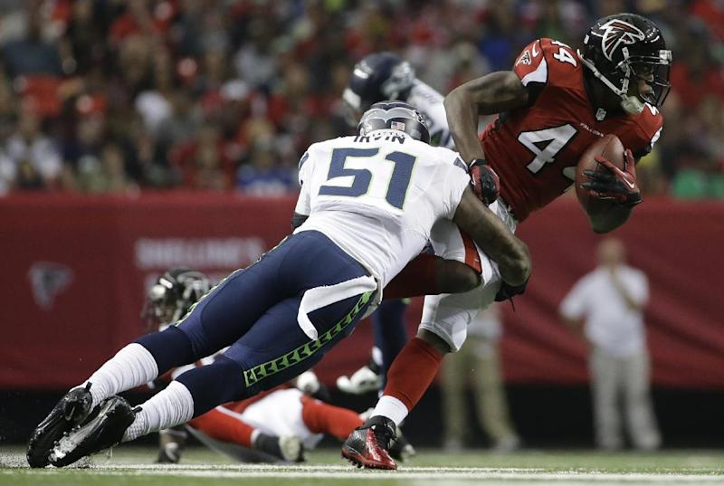 Falcons RB Snelling arrested on marijuana charge