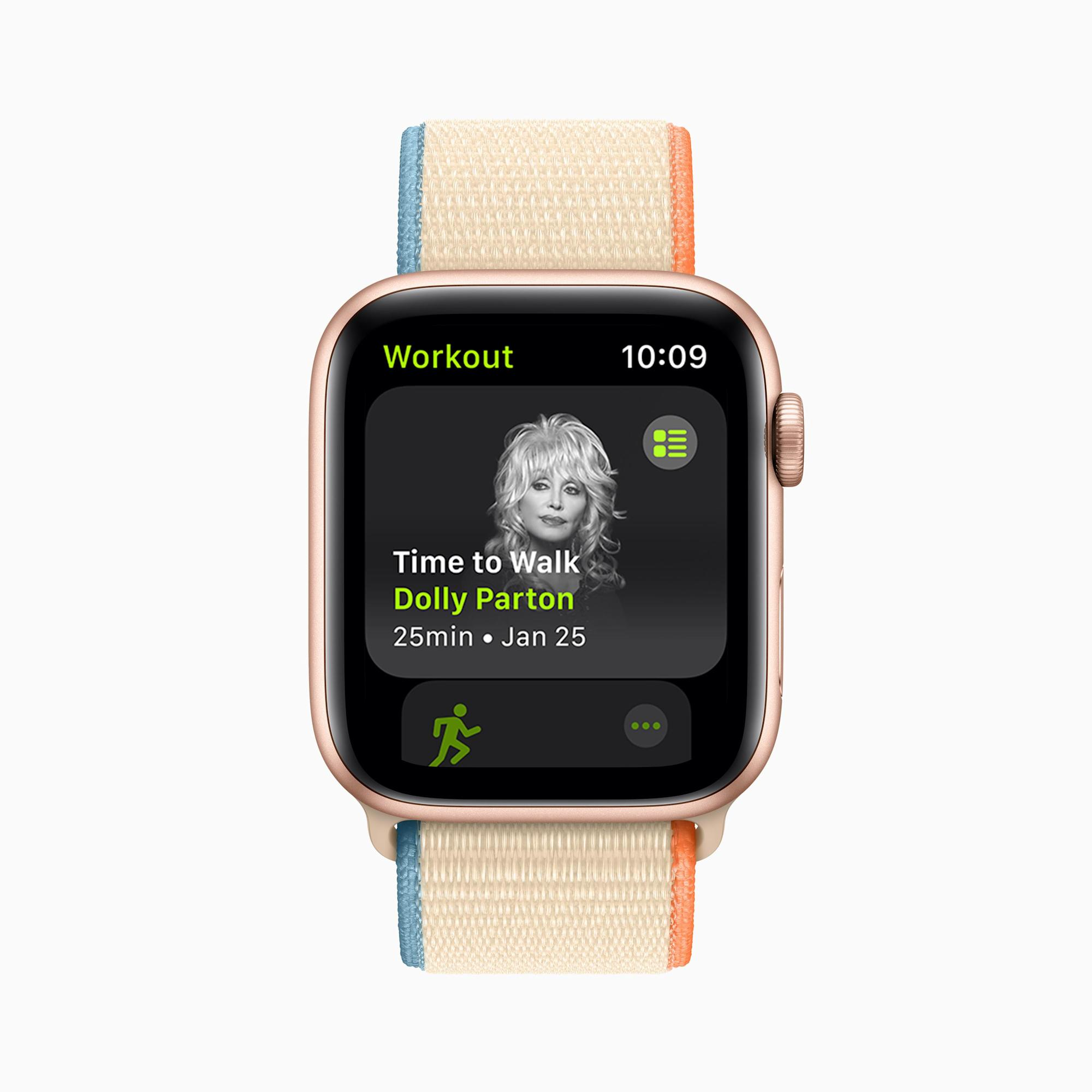 Apple's new Fitness+ feature brings celebrity-guided walks to your wrist – Yahoo Finance Australia