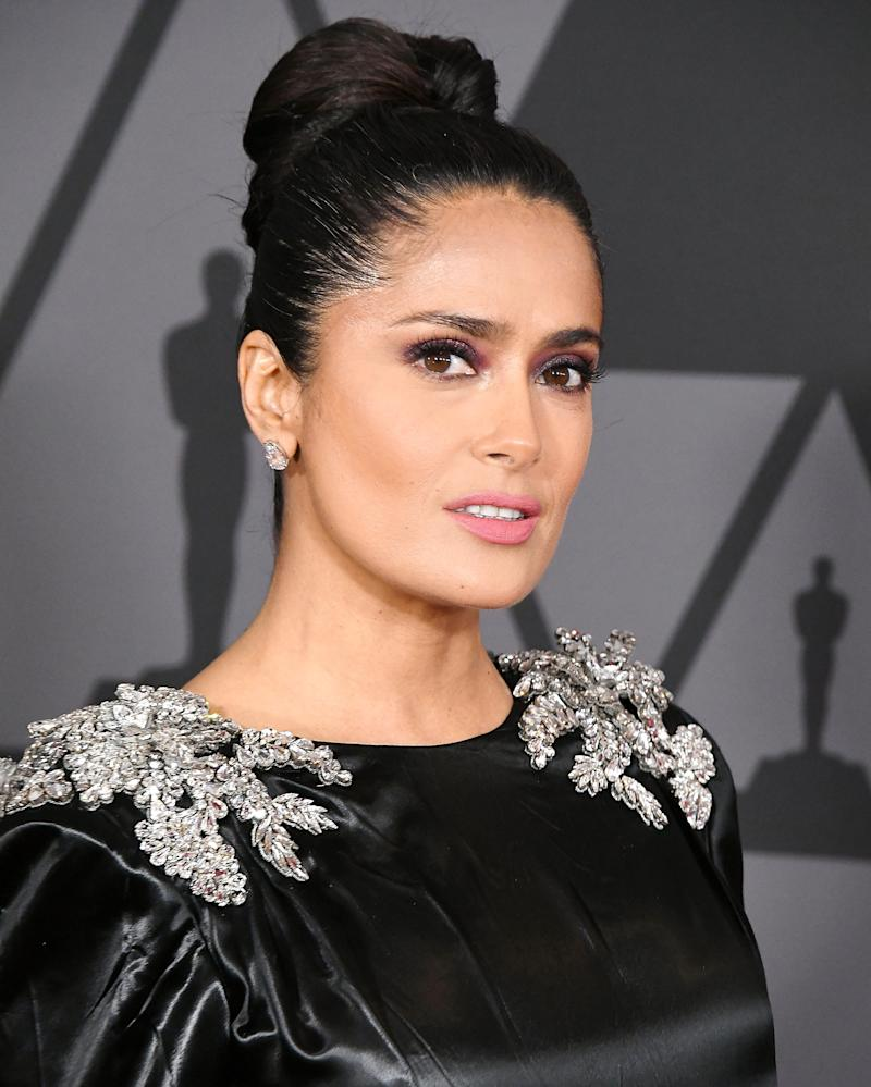 Salma Hayek felt ashamed' for not speaking out about Harvey Weinstein sooner