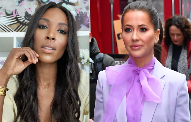 "Canadian blogger Sasha Exeter has released an 11 minute video in which she revealed Jessica Mulroney ""threatened"" her livelihood. (Image via Instagram/Getty Images)"
