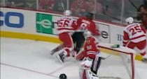 <b>Suspension: Four games</b> <br><br> Detroit Red Wings forward Teemu Pulkkinen was suspended four games for boarding Chicago Blackhawks defenceman Mike Kostka on September 17, 2013.