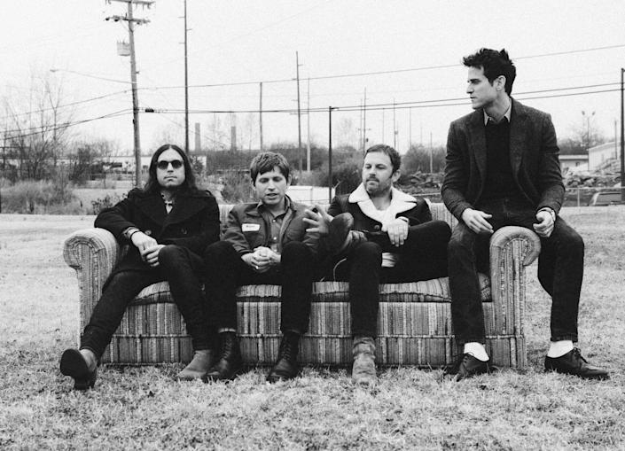 <p>Coming back again: the Kings have released their eighth album</p> (Matthew Followill)