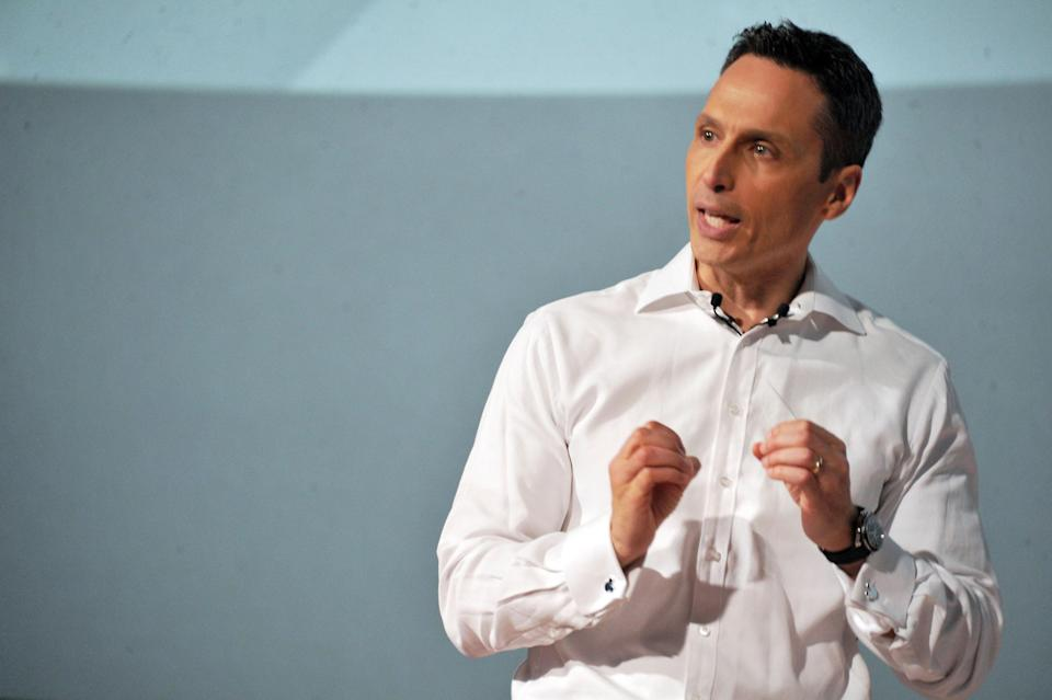 "ESPN president Jimmy Pitaro, shown here in 2014, said ESPN will not show the anthem during ""Monday Night Football"" unless something newsworthy happens. (AP)"