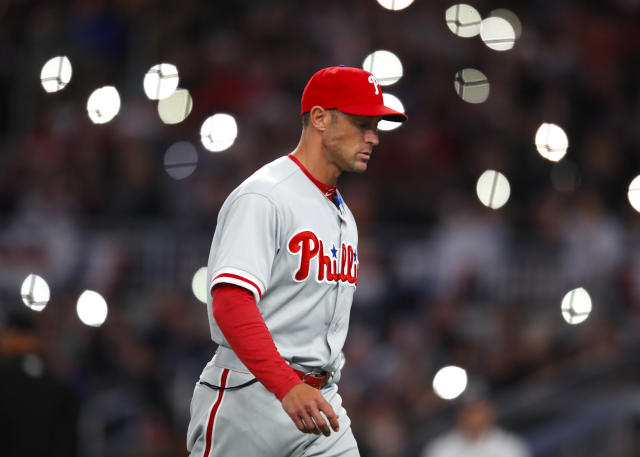 Gabe Kapler has made plenty of pitching changes already. (AP Photo/Todd Kirkland)