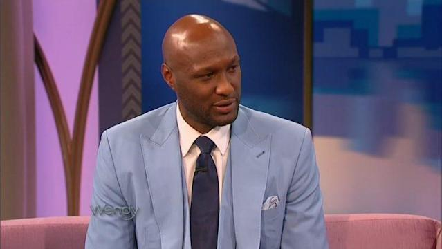 "Lamar Odom chatted about his relationship with Khloé Kardashian on ""The Wendy Williams Show"" Wednesday. (Photo: The Wendy Williams Show)"