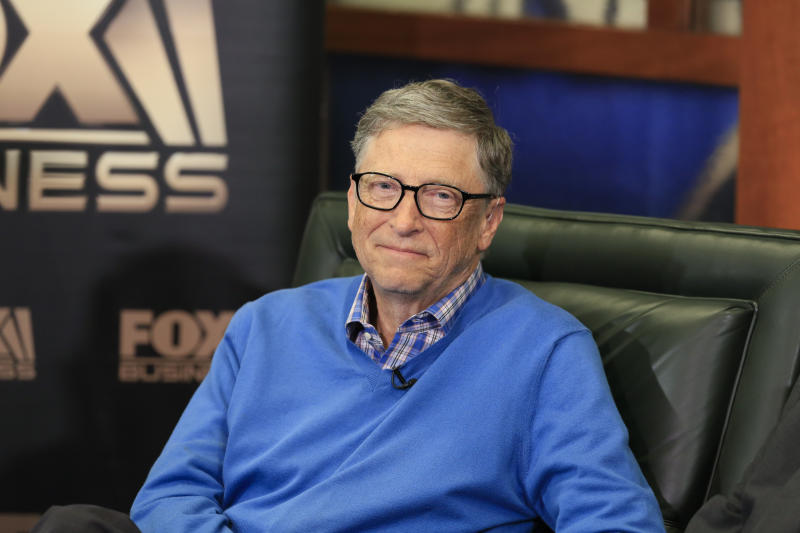 Bill Gates (AP/Nati Harnik)