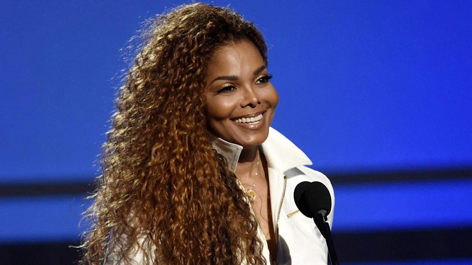Mandatory Credit: Photo by Chris Pizzello / Invision / AP / REX / Shutterstock (9123546a) Janet Jackson accepts the Ultimate Icon: The Visual Award for Music Dance at the BET Awards in Los Angeles.