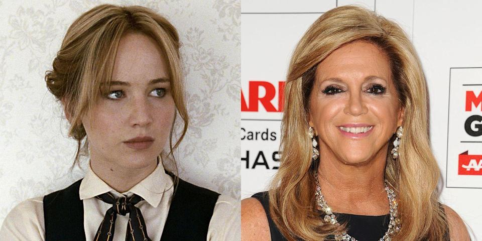 <p>They could be related, right? On the right is Joy Mangano, inventor of the Miracle Mop, whose story is featured in the 2015 film <em>Joy</em>. </p>