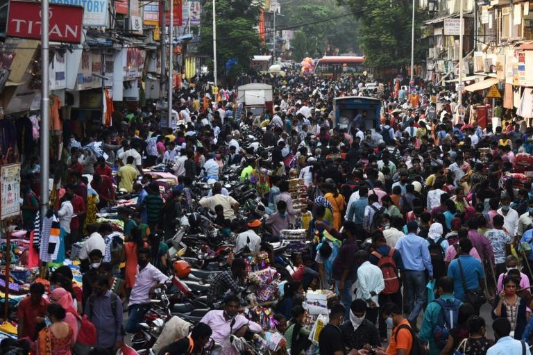 People have packed markets in many parts of India ahead of Diwali, the country's biggest holiday of the year