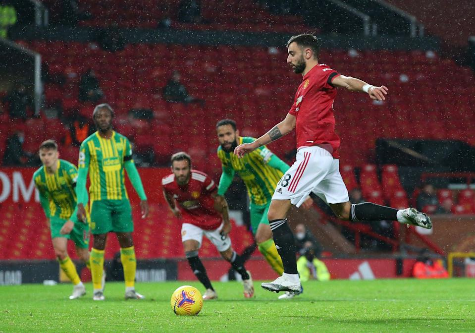 <p>Who will come out on top at Old Trafford?</p> (Pool via REUTERS)