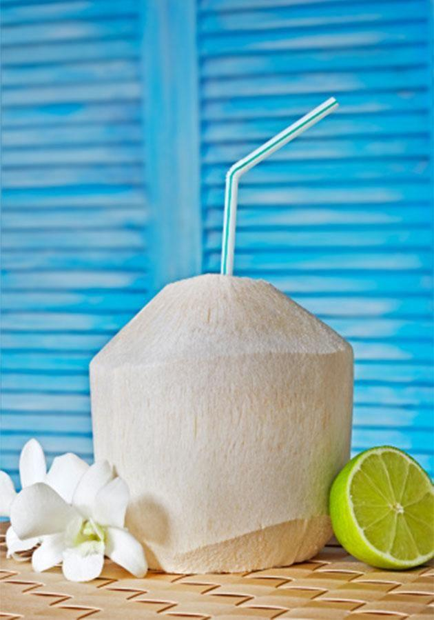 Coconut water is laden with sugar. Photo: Getty Images