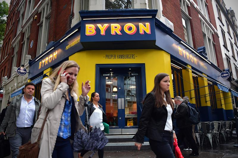 Burger chain Byron could close some outlets as it plans rescue deal