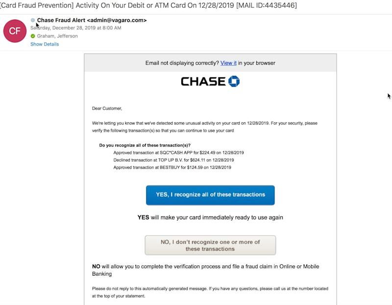 Take a good look at a phishing e-mail from a hacker