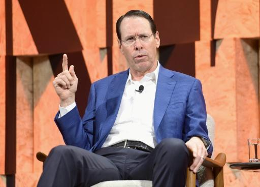 Chairman and CEO of AT&T Randall Stephenson speaks onstage during a Vanity Fair event in Beverly Hills, California, in October 2017