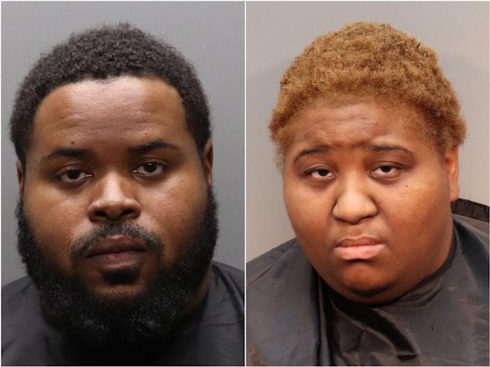 Jerry and Ariel Robinson stand accused of causing the death of a three-year-old girl (Simpsonville Police)