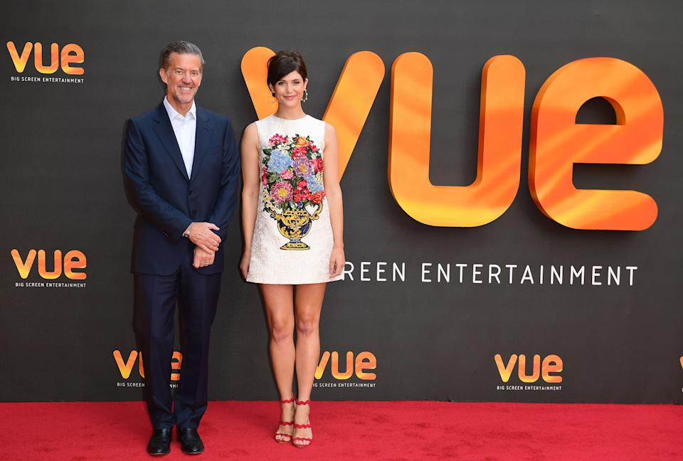 Tim Richards, CEO Vue International and Gemma Arterton re-open the newly refurbished Vue Cinema, London. (Photo by Ian West/PA Images via Getty Images)