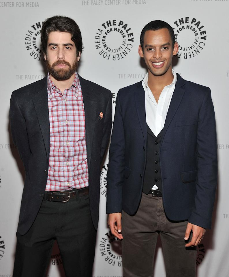 """NEW YORK, NY - APRIL 12:  Actors Adam Goldberg (L) and Tom Reed attends The Paley Center For Media Presents New York Premiere Of """"NYC 22"""" at Paley Center For Media on April 12, 2012 in New York City.  (Photo by Mike Coppola/Getty Images)"""