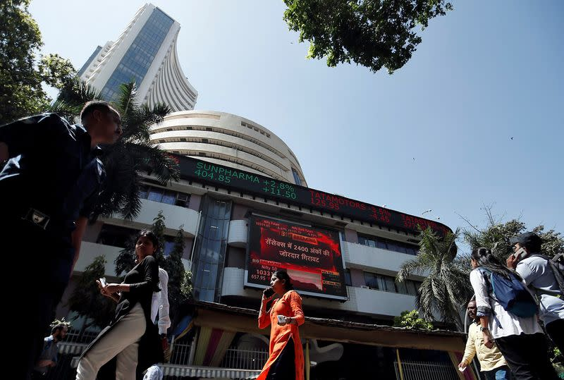 Sensex, Nifty rise on U.S. Fed's move to boost liquidity