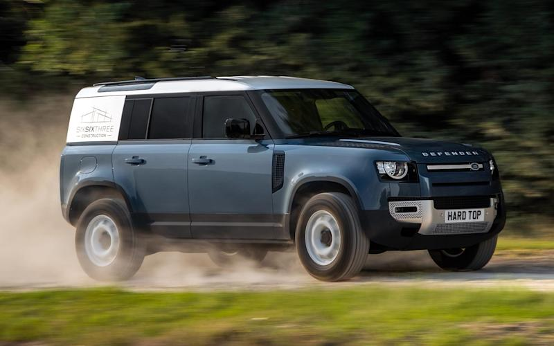 2020 Land Rover Defender Hard Top commercial vehicle