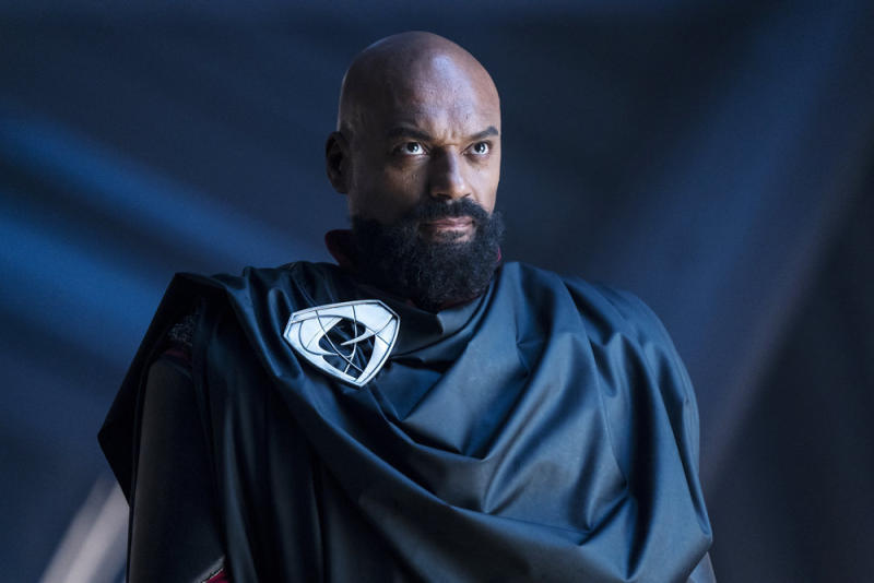Colin Salmon as Dru-Zod in Season 2 of 'Krypton' (Photo by: Steffan Hill/SYFY)