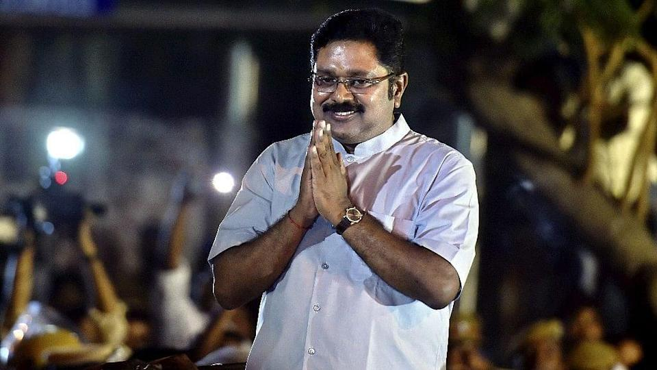 TTV Dhinakaran made history when he won as an independent candidate in Jayalalithaa's RK Nagar constituency in 2019.