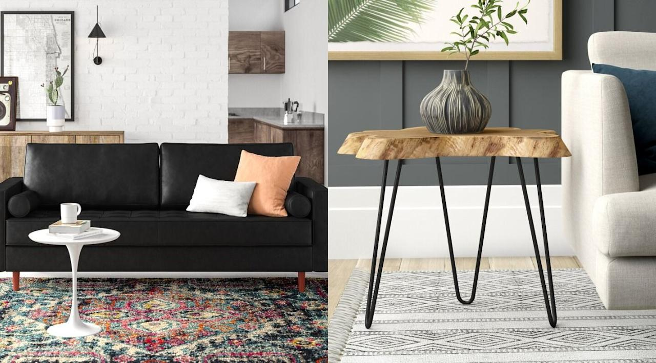 """<p><a href=""""https://www.housebeautiful.com/shopping/best-stores/a34124033/wayfair-way-day-sale-september-2020/"""" target=""""_blank"""">Way Day 2020</a> is <em>finally</em> here, which means you can score up to 80 percent off on furniture and appliances at Wayfair, AllModern, Joss & Main, and Birch Lane until this Friday. We scoured the massive sale to find the best deals and most stylish pieces, so the only heavy lifting you have to do is pull out your credit card. From genuine leather couches to air purifiers with HEPA filters, here are our top picks.</p>"""