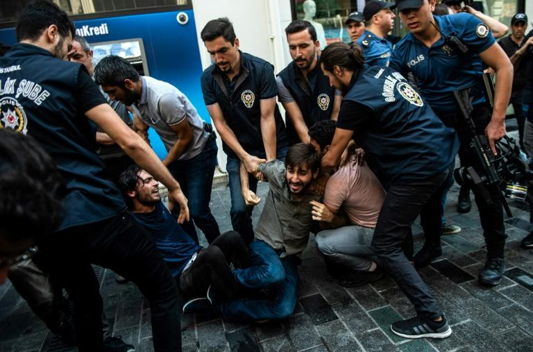 Turkish media reports said that at least 23 people were detained