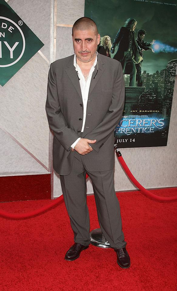"<a href=""http://movies.yahoo.com/movie/contributor/1800018903"">Alfred Molina</a> at the New York City premiere of <a href=""http://movies.yahoo.com/movie/1810073953/info"">The Sorcerer's Apprentice</a> - 07/06/2010"
