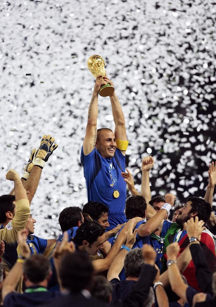 Italy were the winners of the 2006 World Cup, beating France in the final in Berlin on July 9 (AFP Photo/Pascal Pavani)