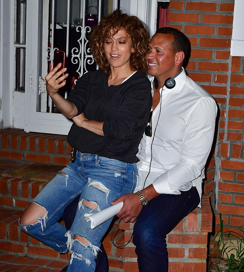 Jennifer Lopez and Alex Rodriguez are never shy about their romance. (Photo: James Devaney/GC Images)