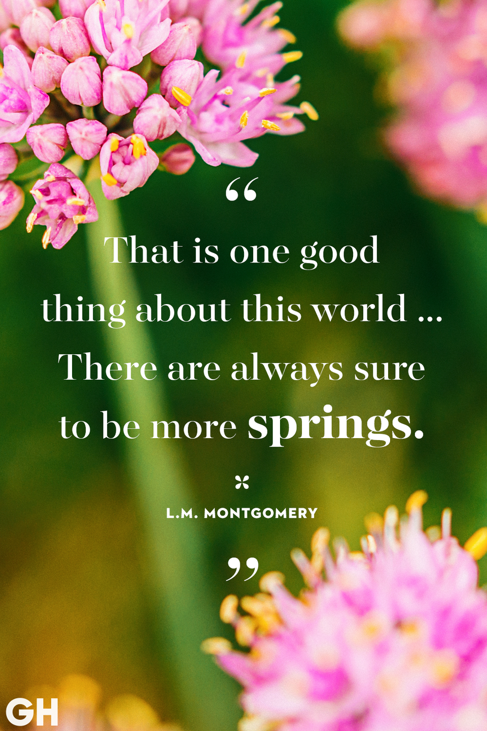 <p>That is one good thing about this world ... There are always sure to be more springs.</p>