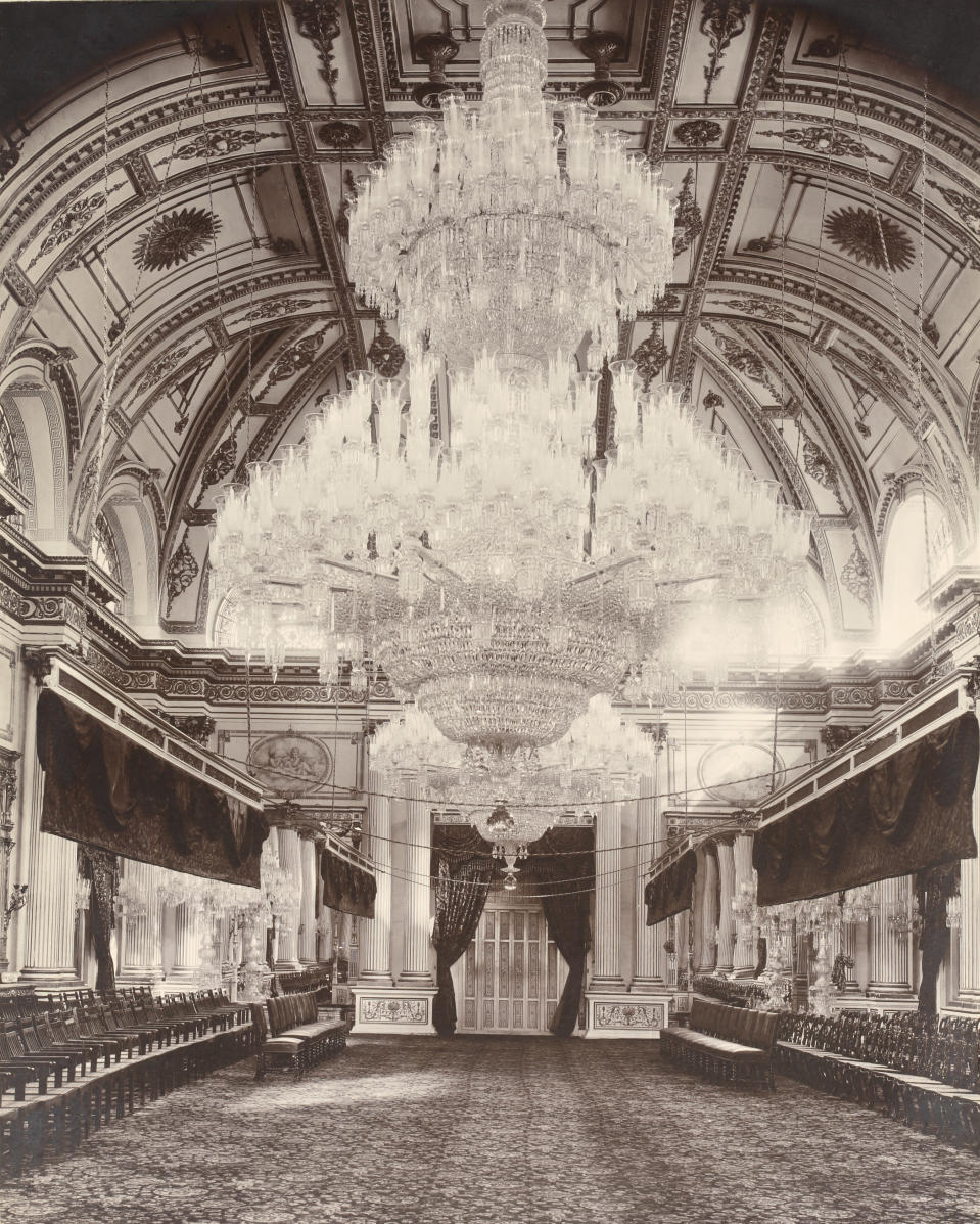 Scenes from the British Raj taken during the visit of Prince of Wales (later George V) to the Maharajah of Gwalior in 1906. The Jaibilas (Jai Vilas) Palace now houses the Scindia Museum. (Photo by Michael Nicholson/Corbis via Getty Images)